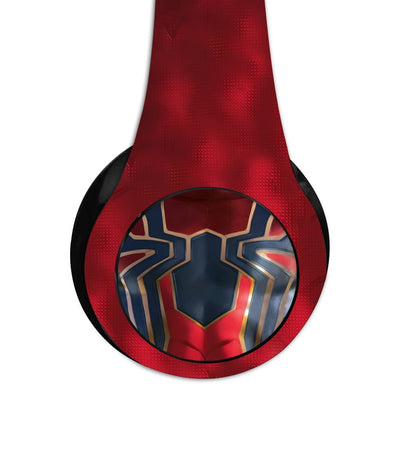 Iconic Spiderman Logo - Decibel Wireless On Ear Headphones -Macmerise - India - www.superherotoystore.com
