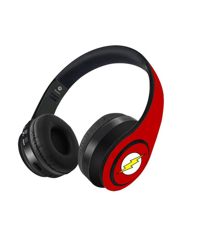 Logo Flash - Decibel Wireless On Ear Headphones -Macmerise - India - www.superherotoystore.com