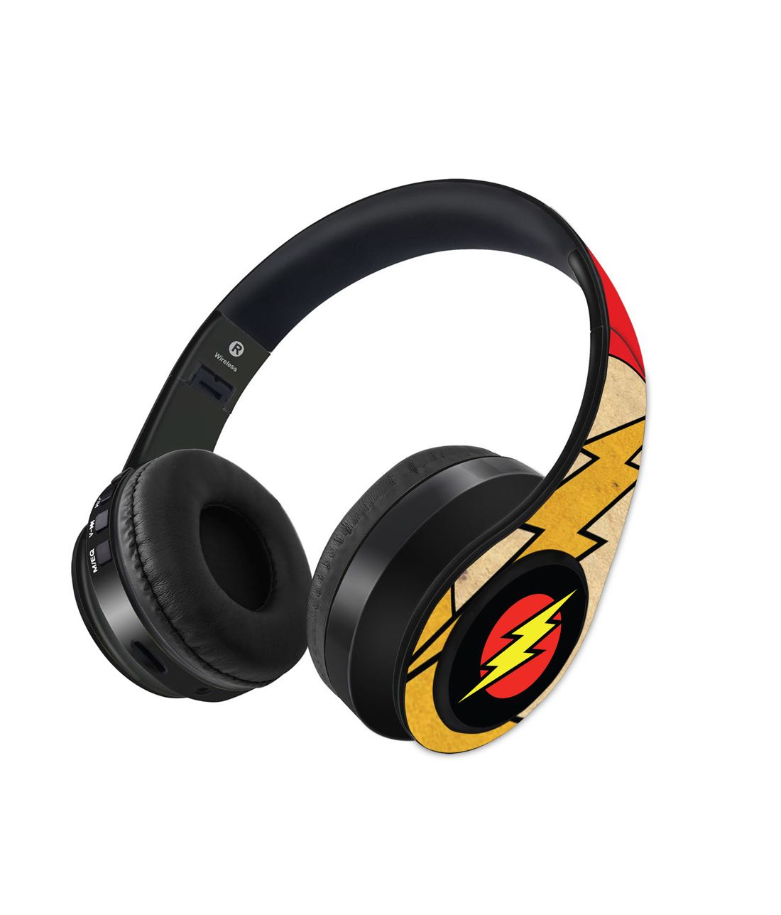 Overload Flash Logo - Decibel Wireless On Ear Headphones