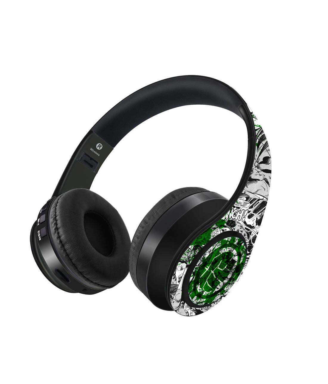 Splash Out Hulk Fist - Decibel Wireless On Ear Headphones -Macmerise - India - www.superherotoystore.com