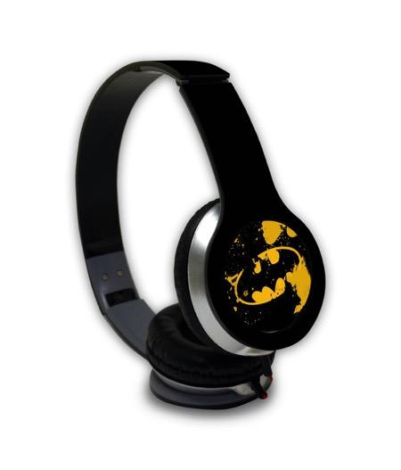 Batman Classic - Wave Wired On Ear Headphones -Macmerise - India - www.superherotoystore.com