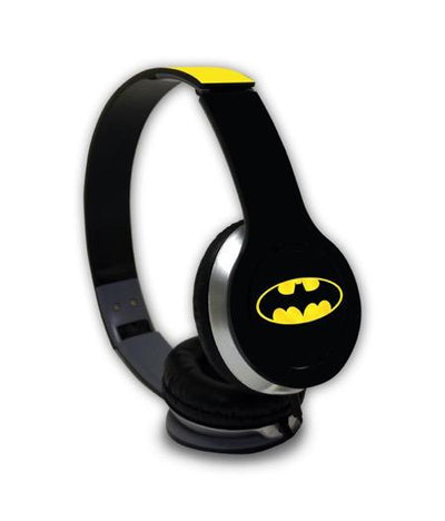 Batman Originals - Wave Wired On Ear Headphones -Macmerise - India - www.superherotoystore.com