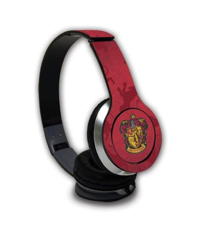 Harry Potter Crest Gryffindor - Wave Wired On Ear Headphones -Macmerise - India - www.superherotoystore.com