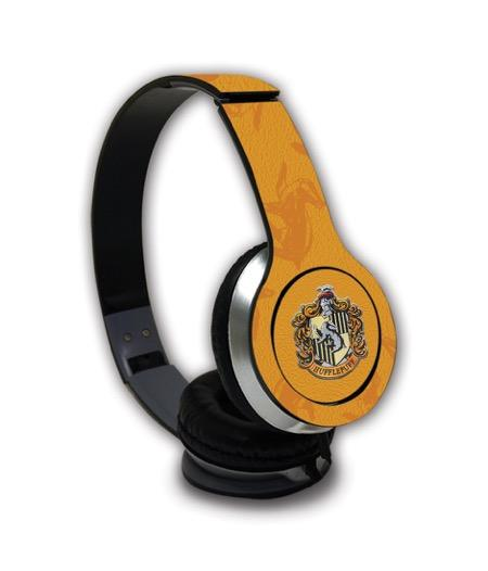 Harry Potter Crest Hufflepuff - Wave Wired On Ear Headphones