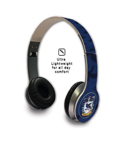 Harry Potter Crest Ravenclaw - Wave Wired On Ear Headphones -Macmerise - India - www.superherotoystore.com