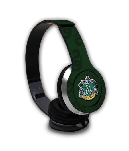 Harry Potter Crest Slytherin - Wave Wired On Ear Headphones