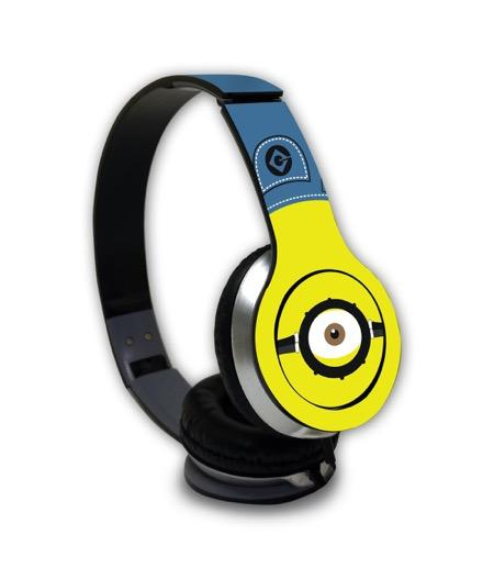 Denim Minion - Wave Wired On Ear Headphones