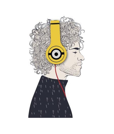 Face Focus Minions - Wave Wired On Ear Headphones