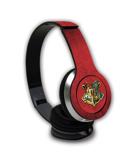 Harry Potter Hogwarts Sigil - Wave Wired On Ear Headphones