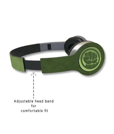 Iconic Hulk - Wave Wired On Ear Headphones