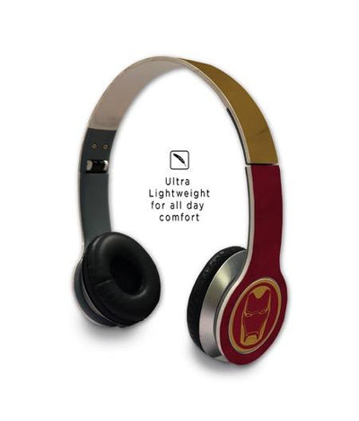 Iconic Ironman - Wave Wired On Ear Headphones