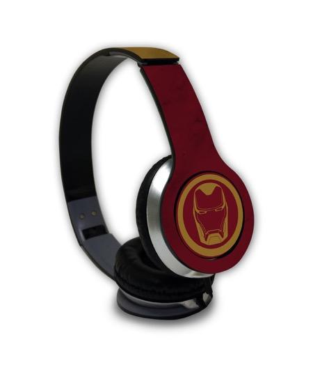 Iconic Ironman - Wave Wired On Ear Headphones -Macmerise - India - www.superherotoystore.com