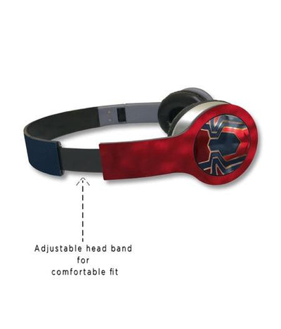 Iconic Spiderman - Wave Wired On Ear Headphones -Macmerise - India - www.superherotoystore.com