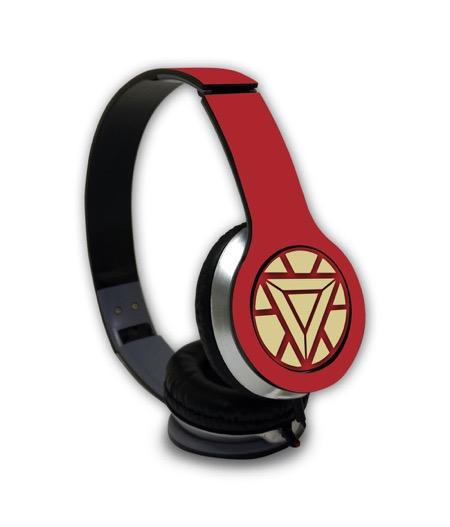 Ironman Arc Reactor - Wave Wired On Ear Headphones -Macmerise - India - www.superherotoystore.com