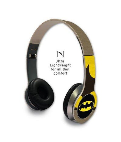 Overload Batman - Wave Wired On Ear Headphones -Macmerise - India - www.superherotoystore.com