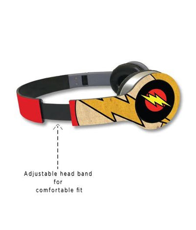 Overload Flash - Wave Wired On Ear Headphones -Macmerise - India - www.superherotoystore.com
