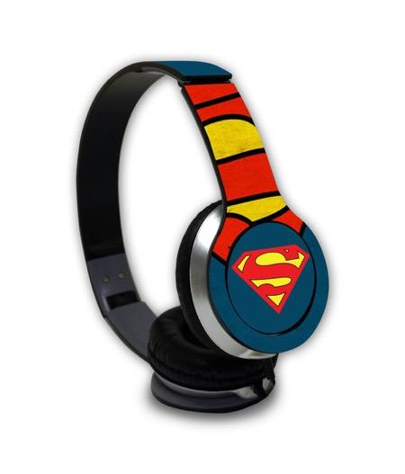 Overload Superman - Wave Wired On Ear Headphones -Macmerise - India - www.superherotoystore.com