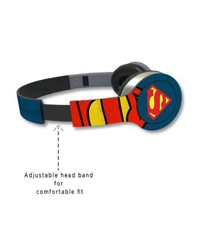 Overload Superman - Wave Wired On Ear Headphones