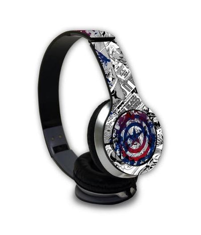 Splash Out Shield - Wave Wired On Ear Headphones -Macmerise - India - www.superherotoystore.com