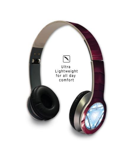 Suit up Ironman - Wave Wired On Ear Headphones -Macmerise - India - www.superherotoystore.com