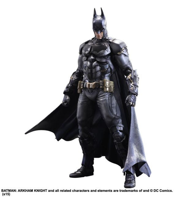 Batman Arkham Knight Play Arts Kai Figure by Square Enix -Square Enix - India - www.superherotoystore.com