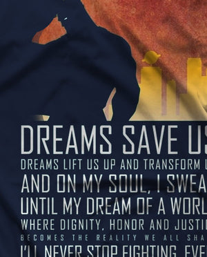 Dreams save us-Vox Pop Clothing- www.superherotoystore.com-T-Shirt - 1