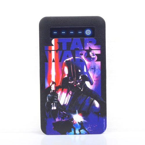 Star Wars Dark Slim PowerBank 4000mah-Thrumm- www.superherotoystore.com-Power Banks - 1