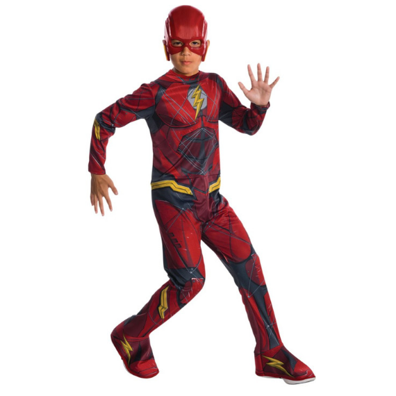 Kids Flash Justice league Costume by Rubies Costume co.