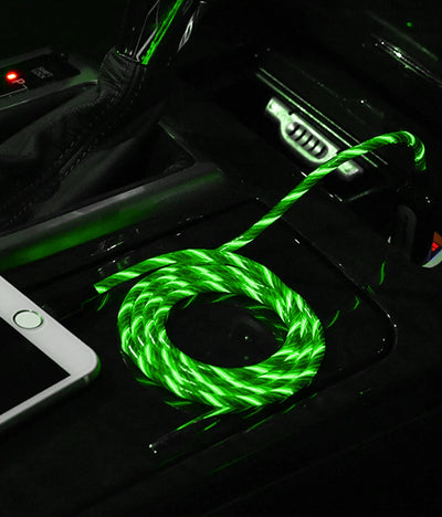Illume Green - Type C LED Cables by Macmerise -Macmerise - India - www.superherotoystore.com