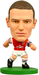 Thomas Vermaelen - Arsenal Home Kit-Soccer Starz- www.superherotoystore.com-Action Figure - 1