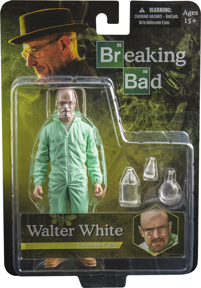 Breaking bad - Action Figure Figure Walter White 15 cm-Mezco Toys- www.superherotoystore.com-Action Figure - 8