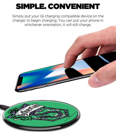 Crest Slytherin Wireless Charger by Macmerise -Macmerise - India - www.superherotoystore.com