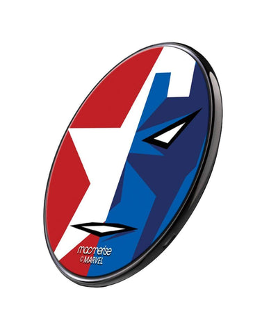 Face Focus Captain America Wireless Charger by Macmerise -Macmerise - India - www.superherotoystore.com