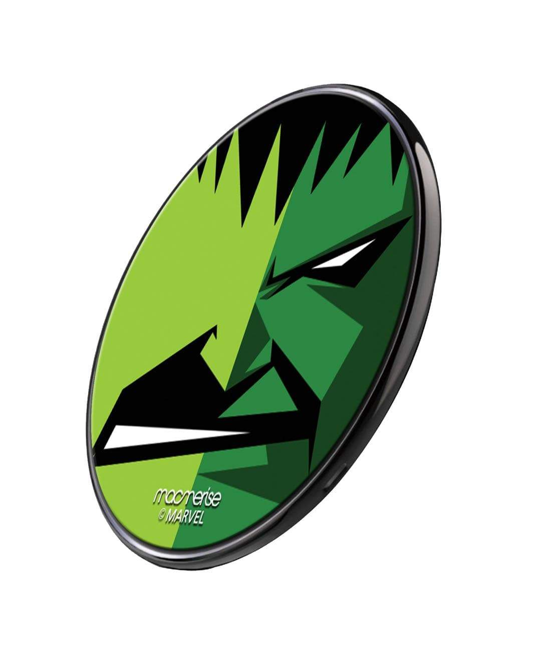 Face Focus Hulk Wireless Charger by Macmerise -Macmerise - India - www.superherotoystore.com