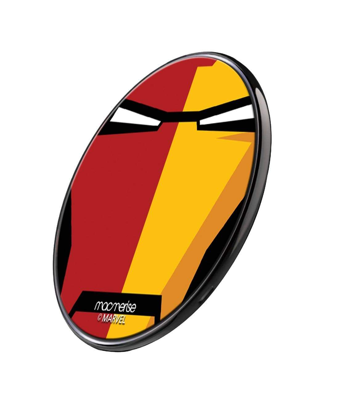 Face Focus Iron Man Wireless Charger by Macmerise -Macmerise - India - www.superherotoystore.com