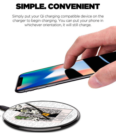 Hello Mr Goofy Wireless Charger by Macmerise -Macmerise - India - www.superherotoystore.com