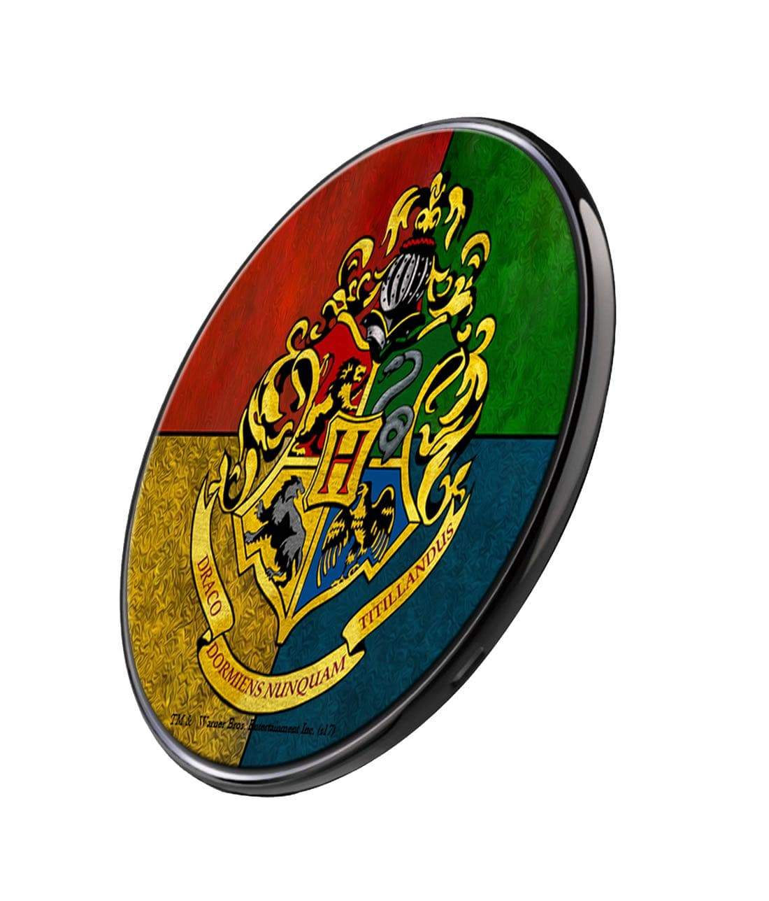 Hogwarts Sigil Wireless Charger by Macmerise -Macmerise - India - www.superherotoystore.com