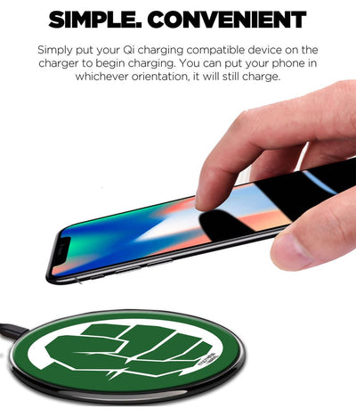 Hulk Fist Punch Wireless Charger by Macmerise -Macmerise - India - www.superherotoystore.com
