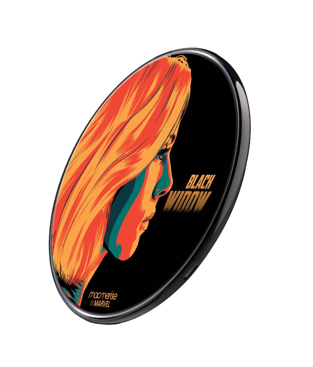 Illuminated Black Widow Wireless Charger by Macmerise -Macmerise - India - www.superherotoystore.com
