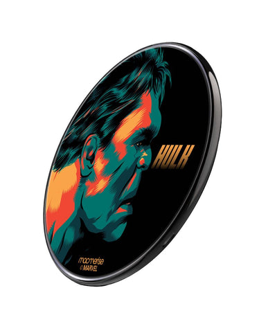Illuminated Hulk Wireless Charger BY Macmerise -Macmerise - India - www.superherotoystore.com