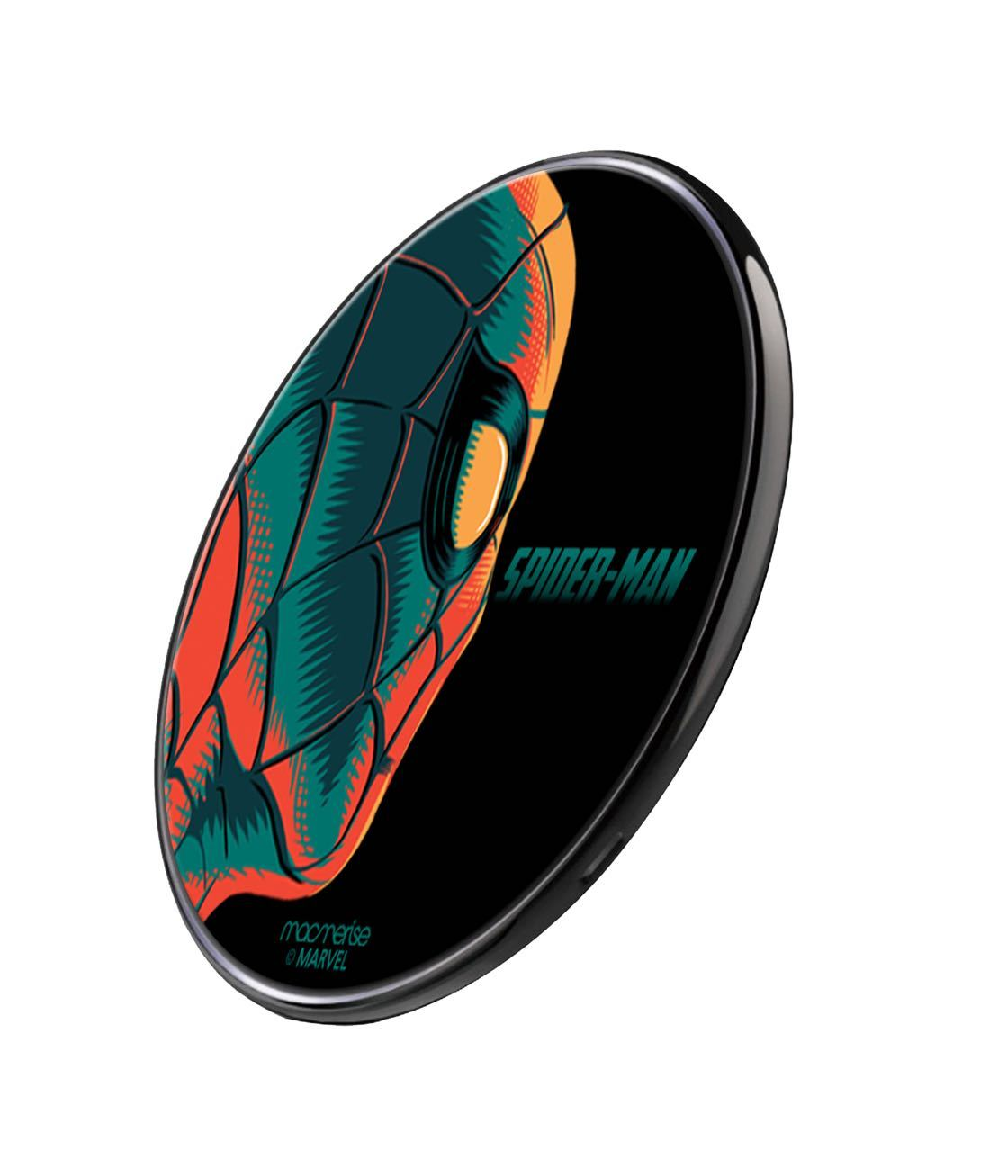 Illuminated Spiderman Wireless Charger by Macmerise