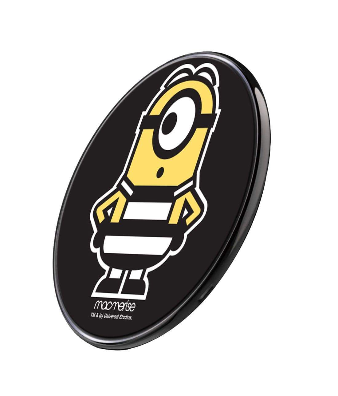 Minion Life Stuart Wireless Charger by Macmerise -Macmerise - India - www.superherotoystore.com
