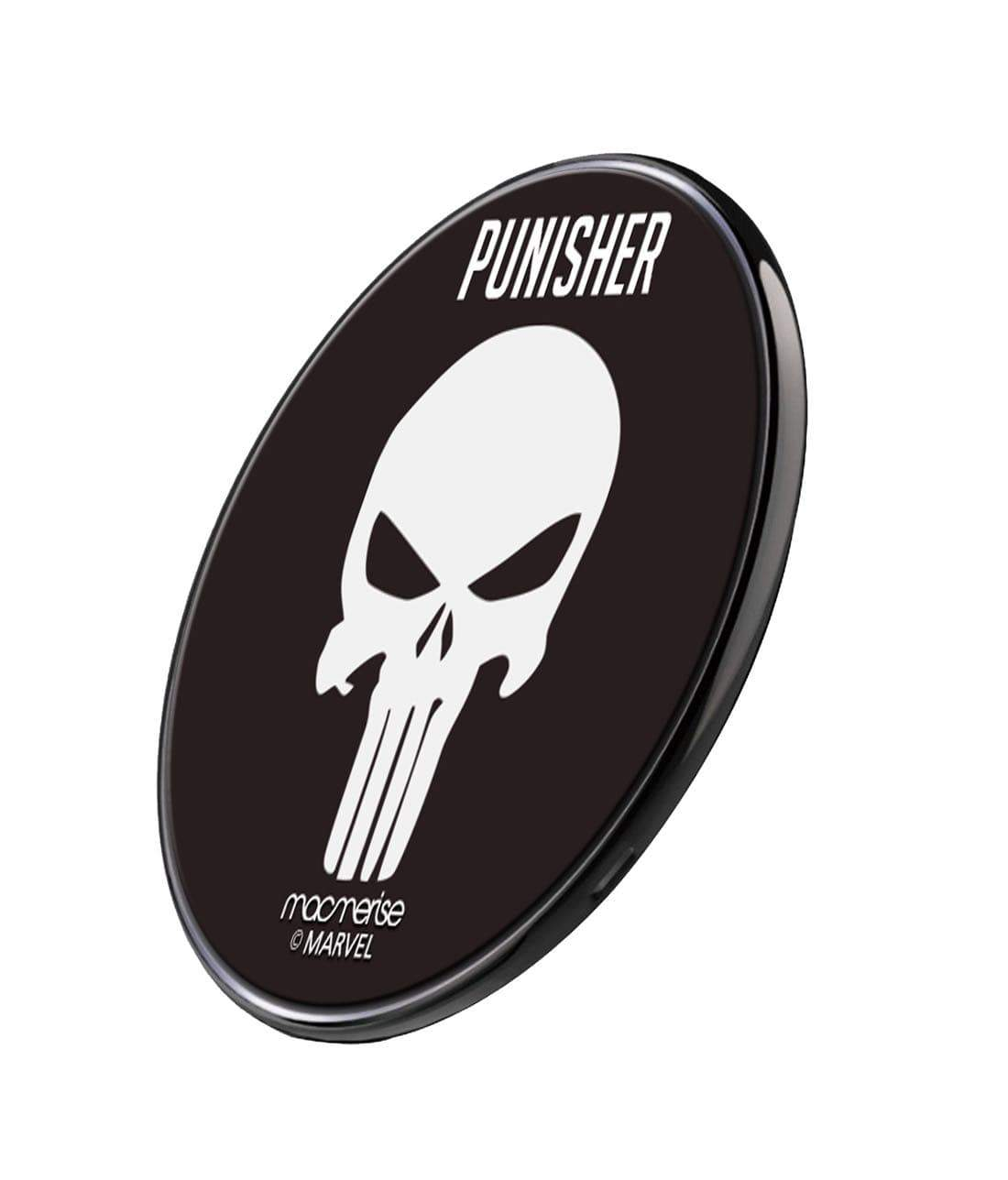 Punisher Symbol Wireless Charger by Macmerise