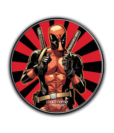 Smart Ass Deadpool Wireless Charger by Macmerise -Macmerise - India - www.superherotoystore.com