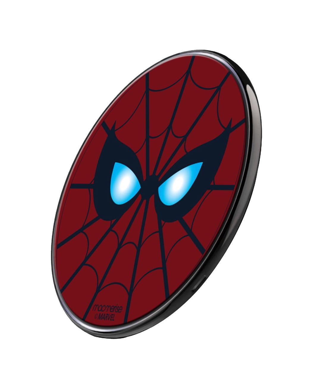 Spidey Eyes Wireless Charger by Macmerise -Macmerise - India - www.superherotoystore.com
