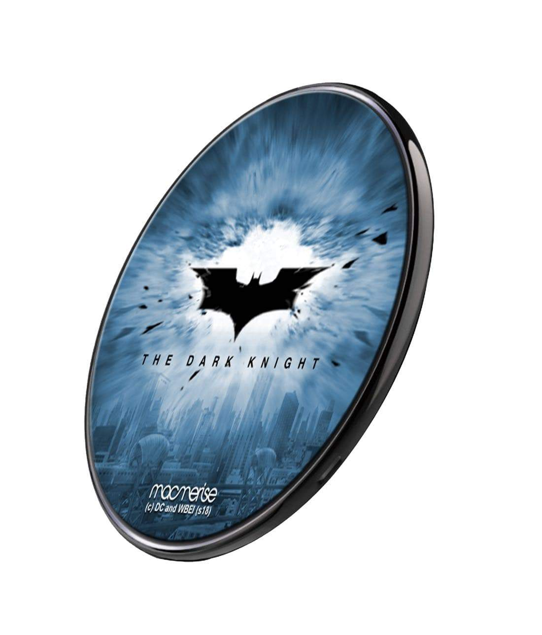 The Dark Knight Wireless Charger by Macmerise -Macmerise - India - www.superherotoystore.com