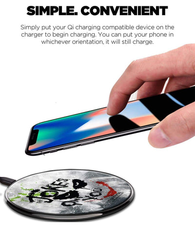 The Jokes on you Wireless Charger by Macmerise -Macmerise - India - www.superherotoystore.com
