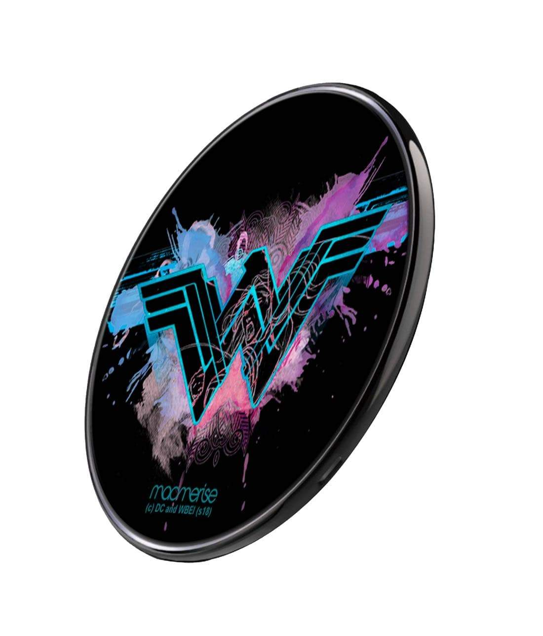 Wonder Woman Splash Wireless Charger by Macmerise -Macmerise - India - www.superherotoystore.com