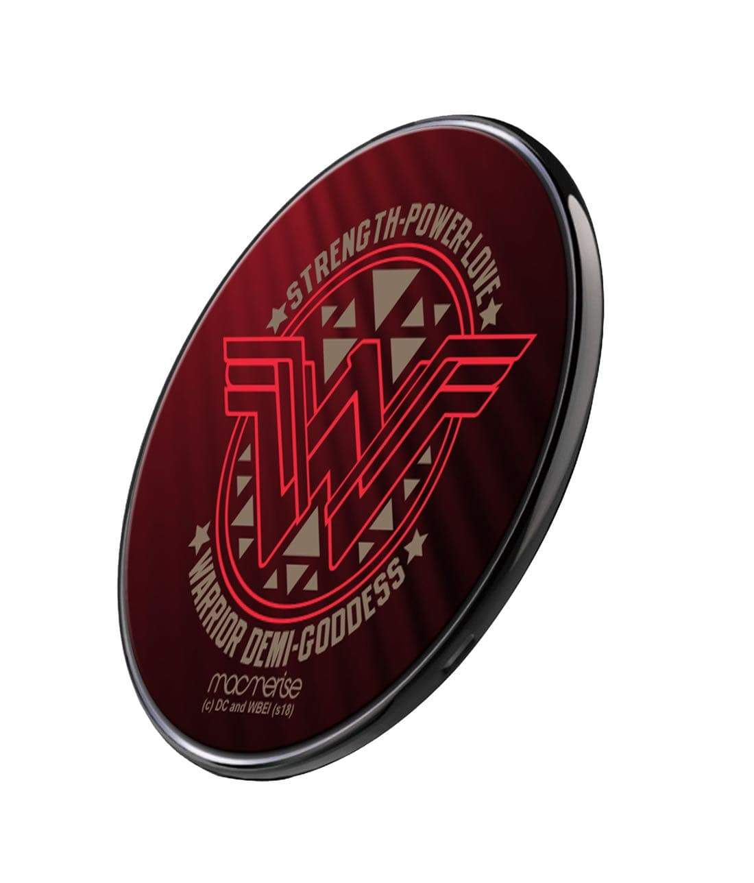 Wonder Woman Stamp Wireless Charger by Macmerise -Macmerise - India - www.superherotoystore.com