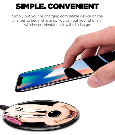 Zoom Up Minnie - Wireless Charger by Macmerise -Macmerise - India - www.superherotoystore.com